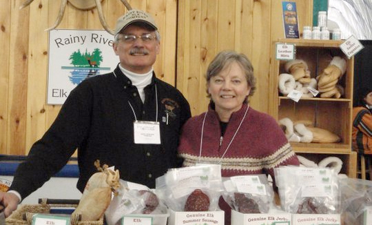 Bill and Deb of Rainy River Elk Company