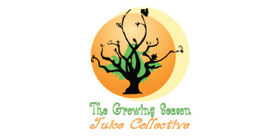 The Growing Season Juice Collective logo